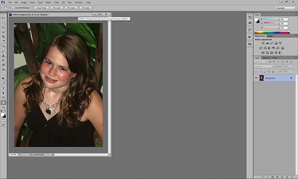 Basic Skin Smoothing in Photoshop