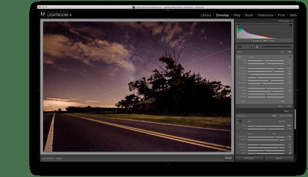 Graduated filter screen shot