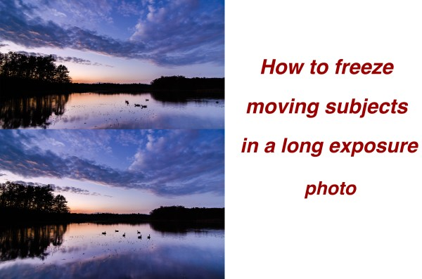 How To Freeze Moving Subjects in a Long Exposure Photo