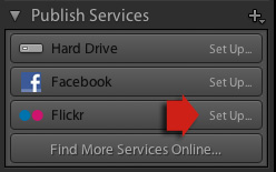 Start By Clicking The Authorize Button And Entering Your Flickr Log In Details This Authorizes Lightroom To Access Your Flickr Account