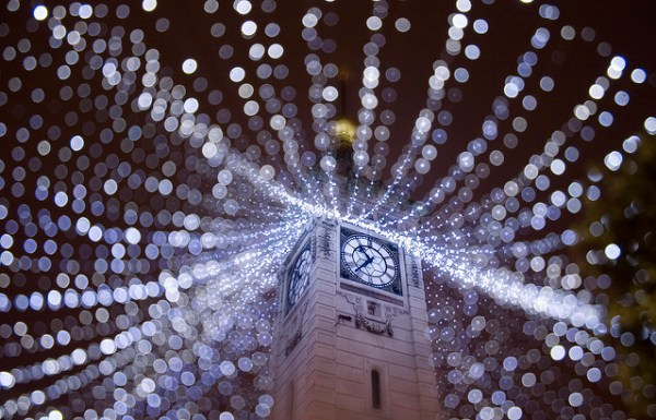 Brighton Clock Tower Love Light Way