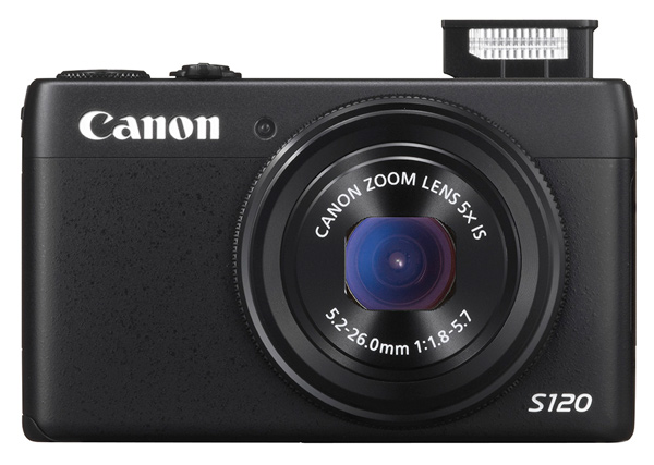 Canon S120 review Blk front 2