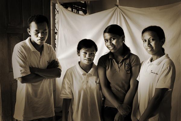 Massage charity Labuan Bajo