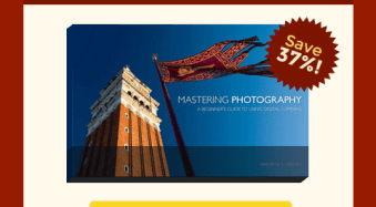 Deal 10: Grab Andrew Gibsons 'Mastering Photography' eBook for $7