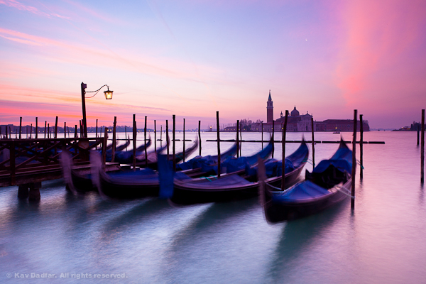 Whats In My Camera Bag-Venice-Sunrise