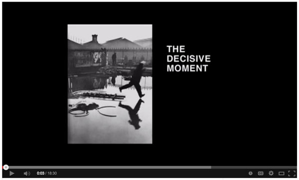 The Master Henri Cartier-Bresson – the Decisive Moment