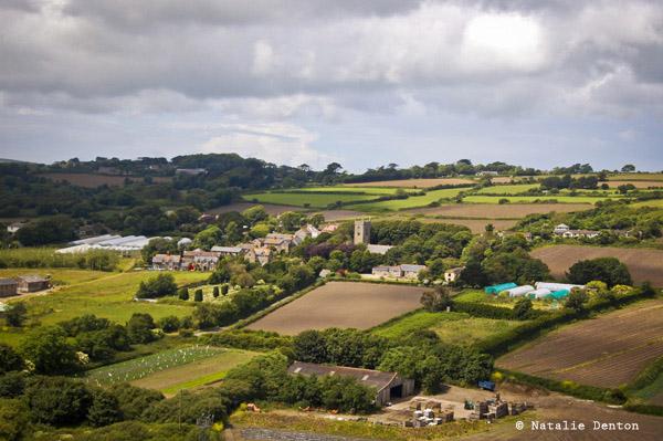 Farm landscape England rural Natalie Denton