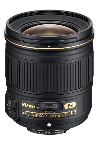 Nikkor 28mm lens
