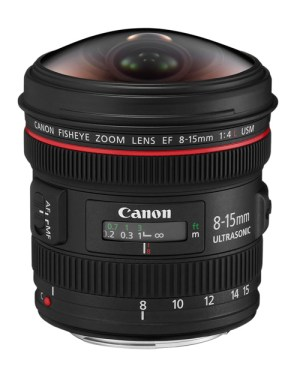 Canon 8-15mm fisheye lens