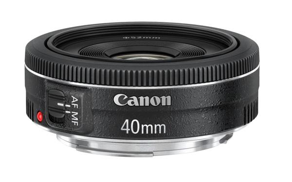 Canon 40mm pancake lens