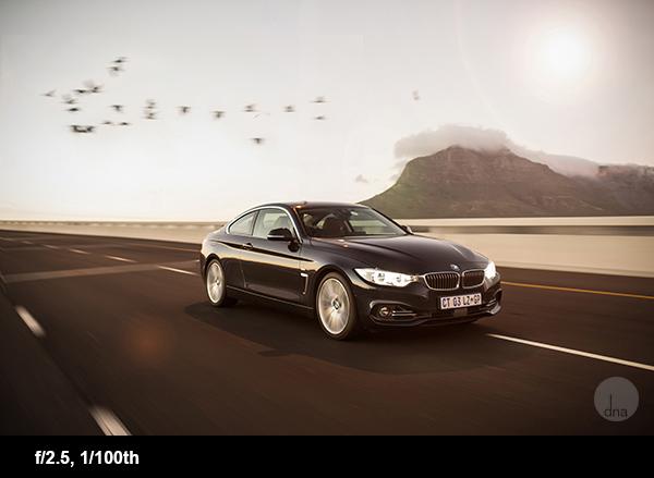 Car photography tips BMW428i