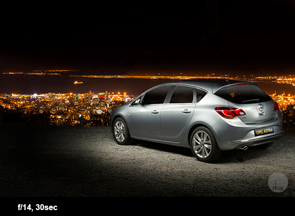 Car photography tips Opel Astra