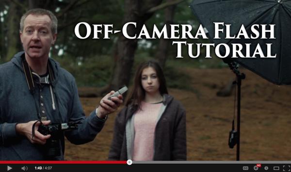 Quick Off-Camera Flash Tutorial