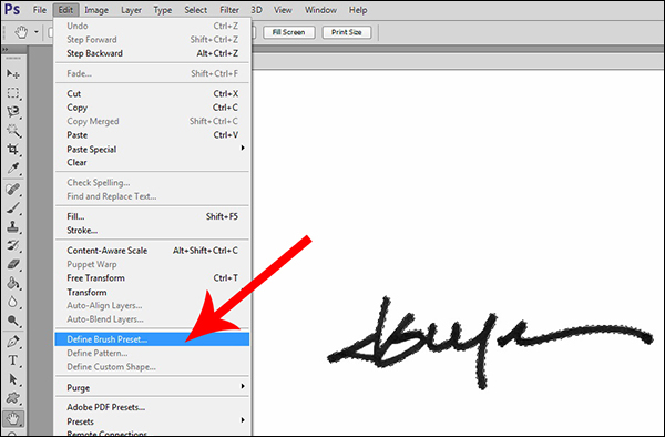 How to Make a Signature Brush in Photoshop