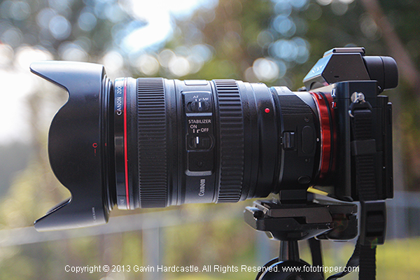 Camera Review – the Sony A7R