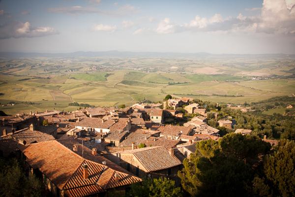 Montalcino, Italy.