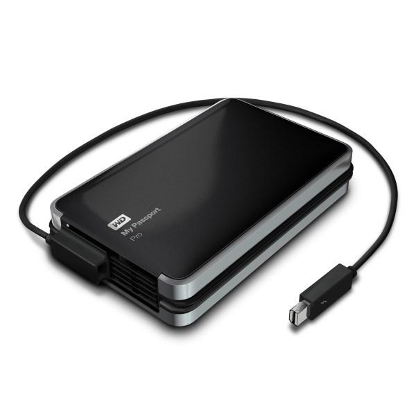 Western Digital announce My Passport Pro Thunderbolt Raid storage