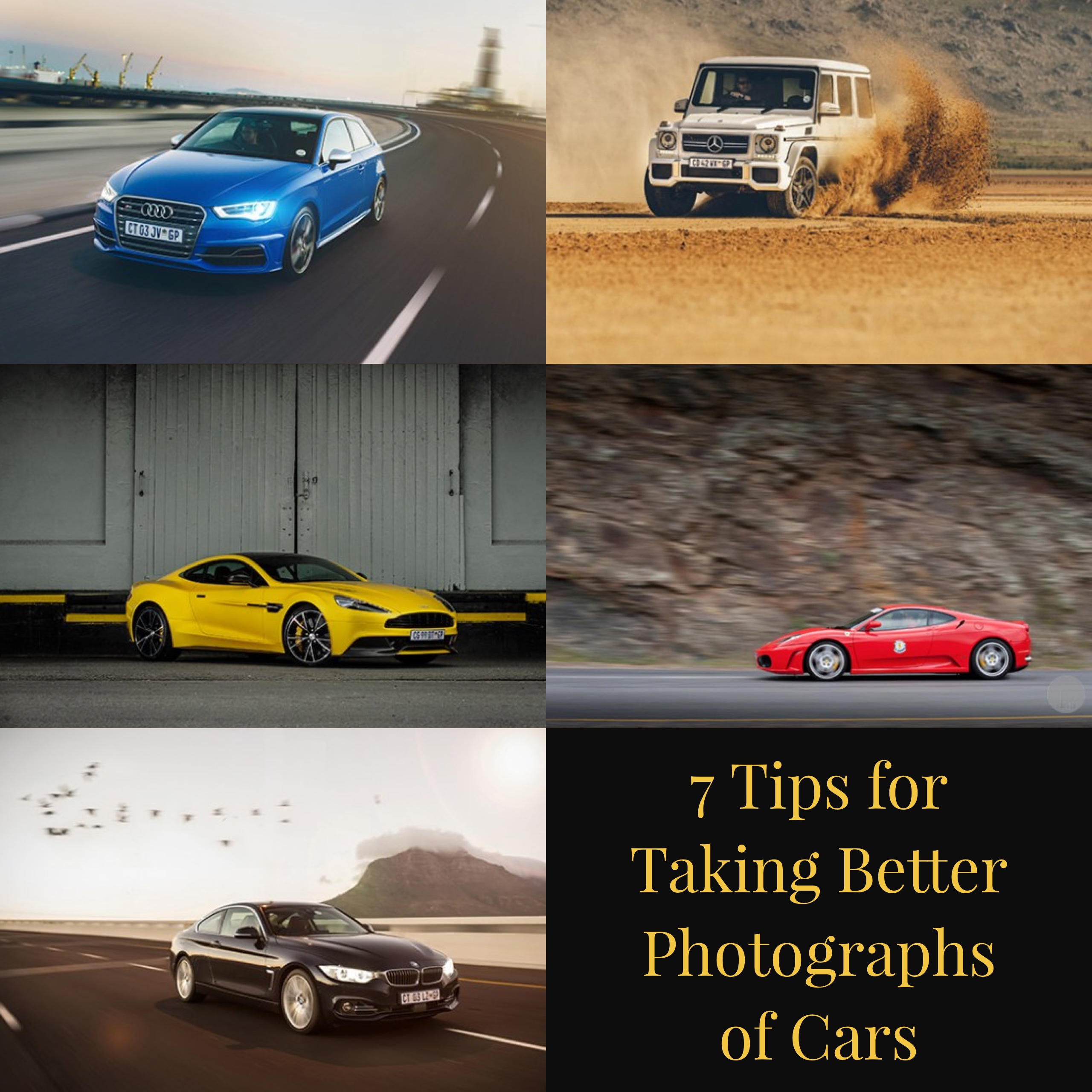 7 Tips for Taking Better Photographs of Cars