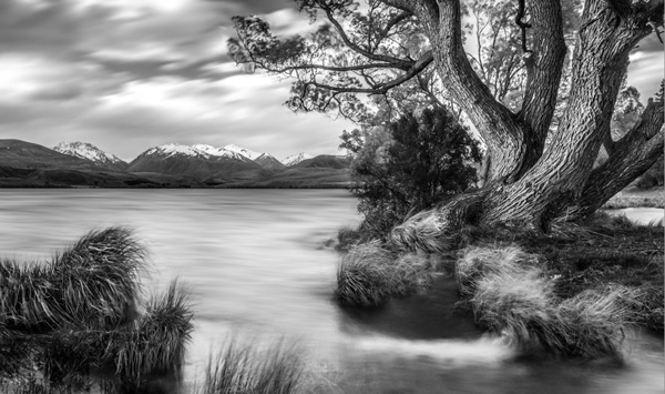 Single exposure landscape photography offers huge creative scope combining in camera single exposure techniques such as long exposure with post processing