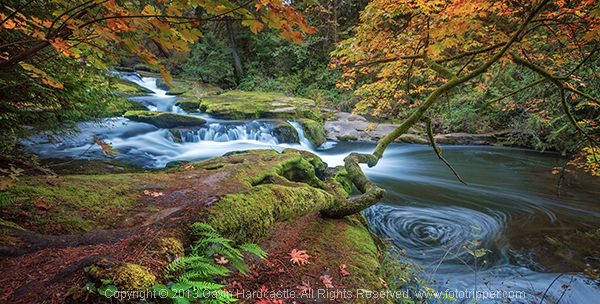 How to photograph waterfalls, creeks and streams