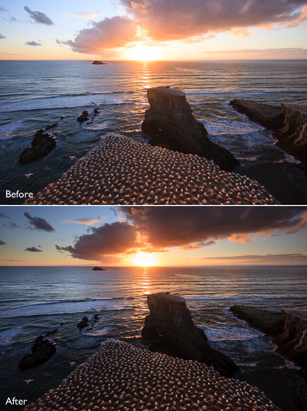 Using the Graduated Filter in Lightroom