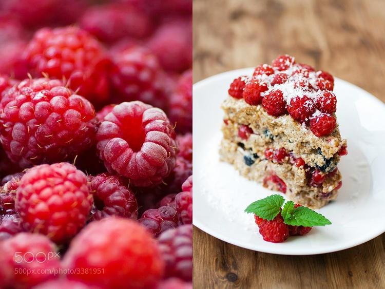 Photograph Raspberry cake by Katia Titova on 500px