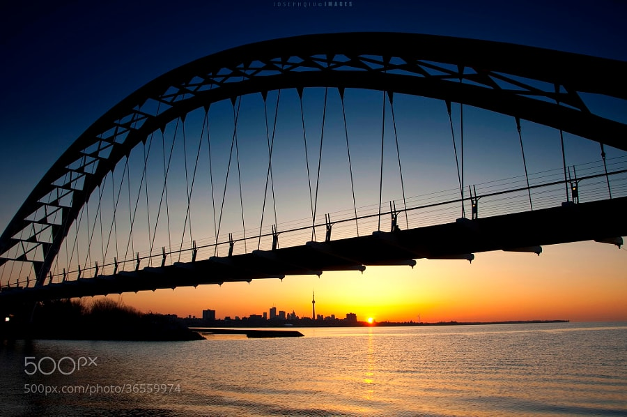 Photograph Bridge the Day and Night by Joseph Qiu on 500px