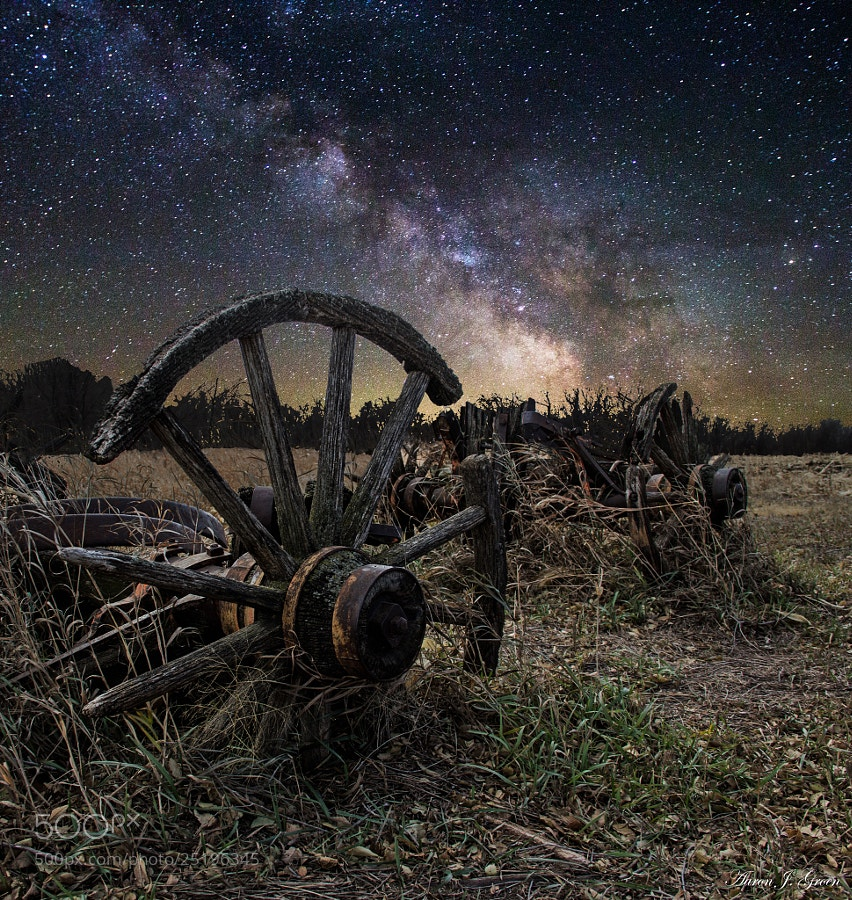 Photograph Wagon Decay by Aaron J. Groen on 500px