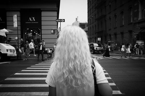 White Hair, SoHo