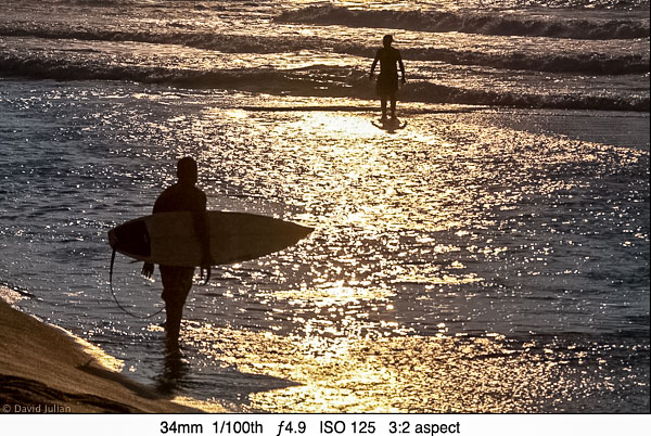 DJulian Backlit surfers Kona