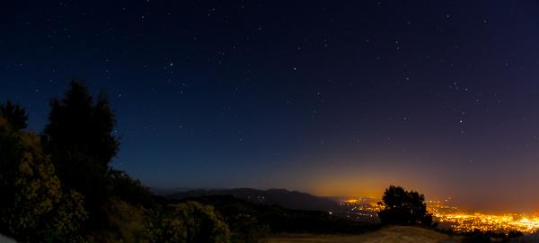 fotografia de estrelas