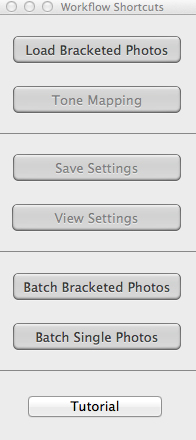 Click on - Load Bracketed Photos