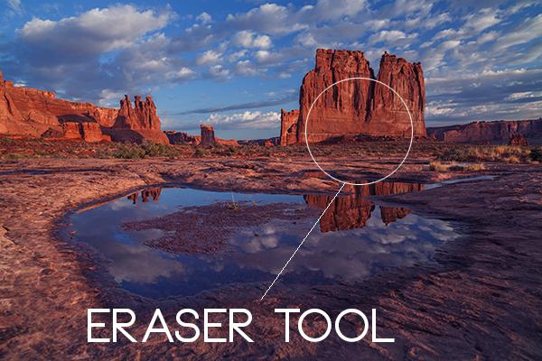 Erase Bruash Tool