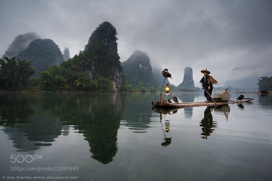 Photograph Fisherman Wanderer by Joel Santos on 500px