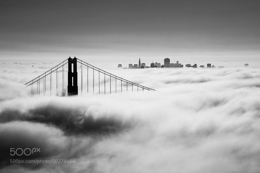 Photograph City of Fog by Johannes Burkhard on 500px