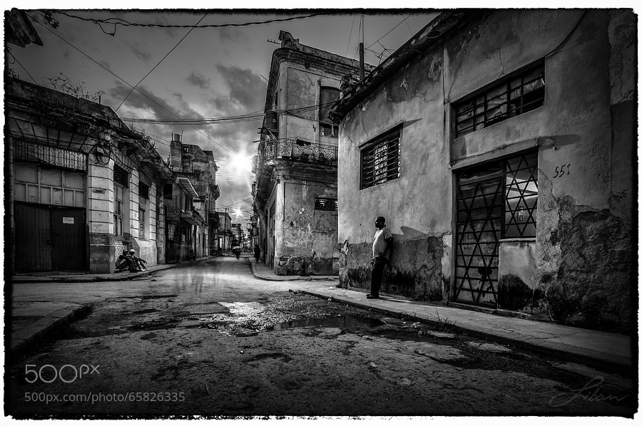 Photograph Havana Life by Liban Yusuf B&W on 500px