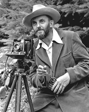Ansel Adams self portrait