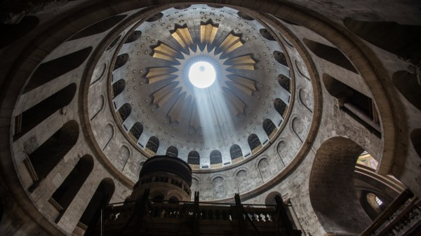 Church of the Holy Sepulchre at 16mm