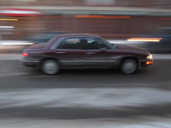 intentional camera movement, ICM, panning, motion, blur, car, vehicle