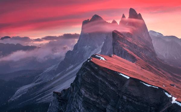 A Set of Awe Inspiring Majestic Mountain Images