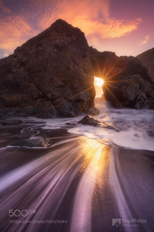Photograph Southern Oregon Coast Sea Arch by Chip Phillips on 500px
