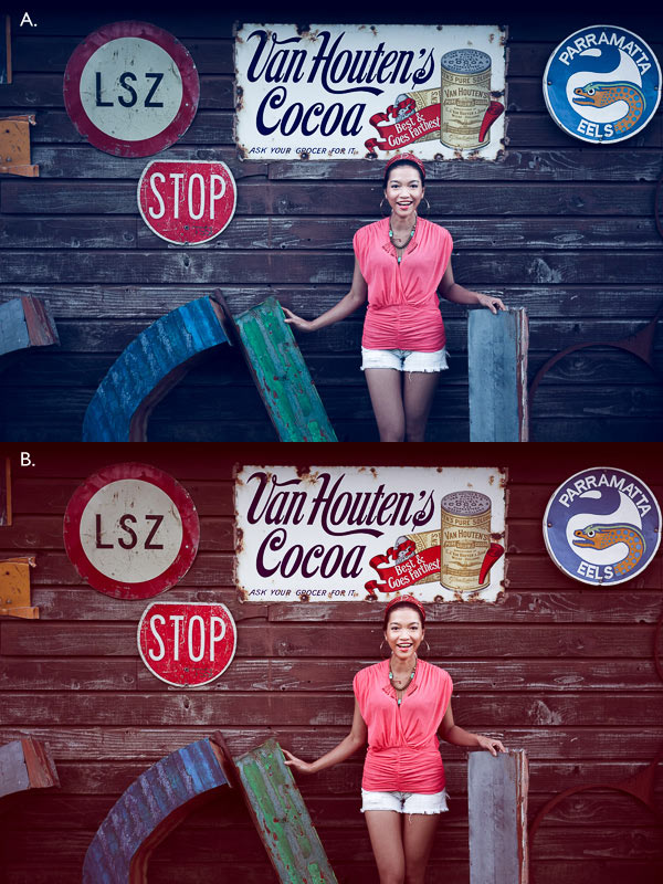 How to Create a Vintage Look using Lightroom