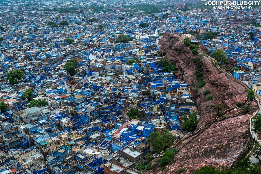 Photograph JODHPUR-BLUE CITY by Harsh Chaudhary on 500px