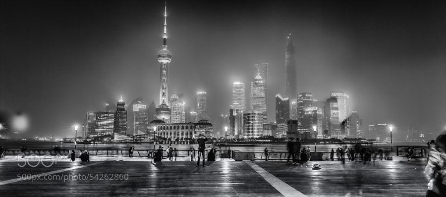 Photograph Shanghai- Bund by Hill Gas on 500px