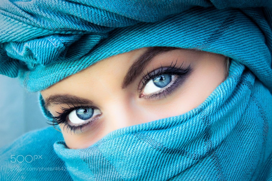 Photograph Blue Eyes by Rasif Babayev on 500px