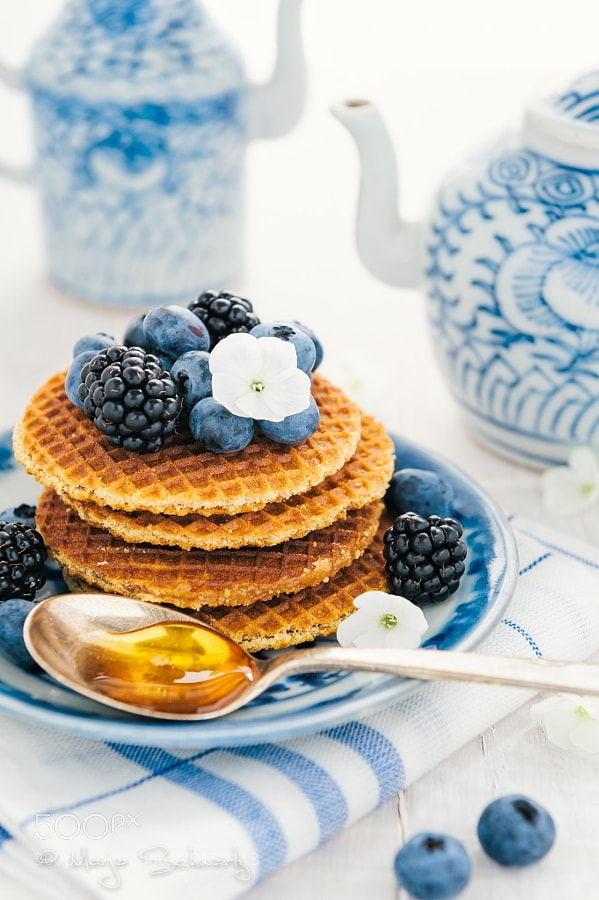 Photograph Summer Berry Waffles by MARJA SCHWARTZ on 500px