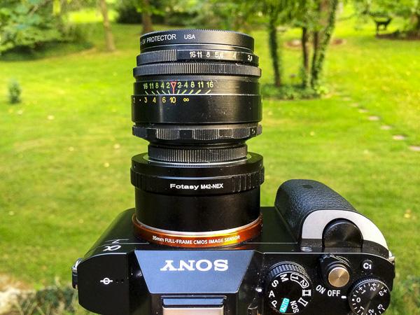 sony a7, helios lens, helios 44-2,