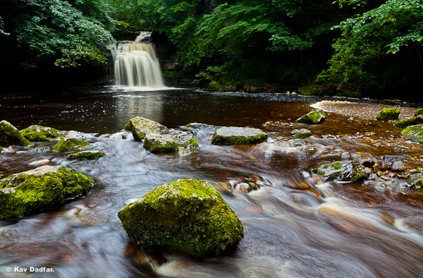 The waterfall will be in full flow after rainfall.