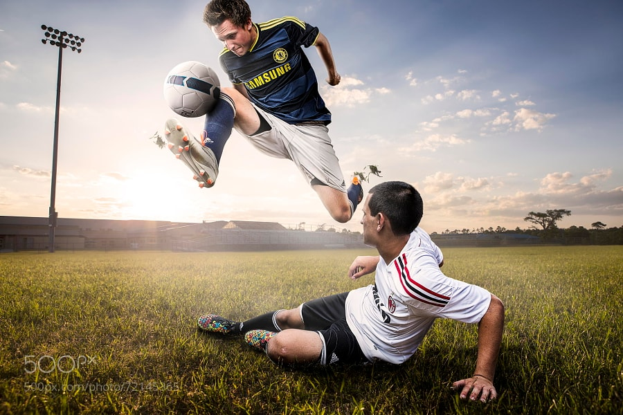 Photograph Soccer-2 by Jaredd Bell on 500px