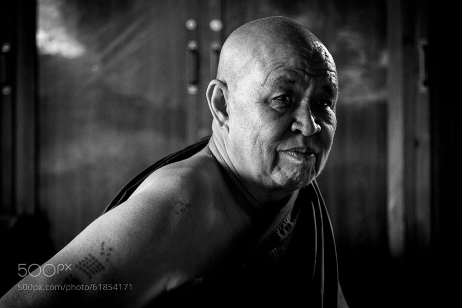Photograph Master Monk by Anthony Pond on 500px